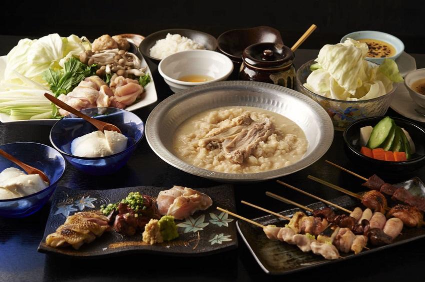 鶴見にある鶏料理専門の居酒屋「とりいちず」のメニュー